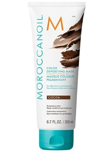Moroccanoil Depositing Cocoa Renk Tazeleyeci Bakım Maskesi 200ml Renksiz